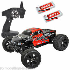 T2M Pirate Grizzly Rtr Monster Truck 1-8 Brushless 4WD T4915 +2 LIPO BATTERY 2s