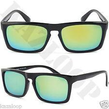 Classic Flat Top Square Rectangle Keyhole Sunglasses 100% UV Protection