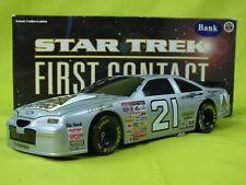 MICHAEL WALTRIP CITGO #21 STAR TREK FIRST CONTACT 1996 THUNDERBIRD 1/24 DIE CAST