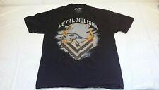 Metal Mulisha Men's T-Shirt Black Tee Size L. Large Graphic Shirt 100% Cotton