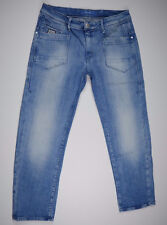 EUC RRP $289 Womens G-Star Raw 'LOW T KATE TAPERED WMN' LIGHT AGED Jeans W28 L28