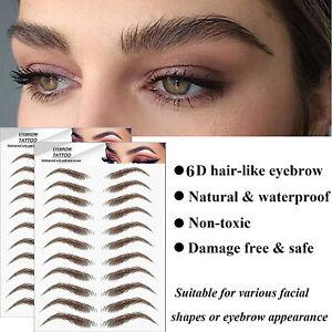 Lasting Authentic 6D Hair-like Eyebrow False Eyebrows Eyebrow Tattoo Sticker