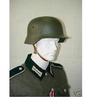 M1935 WWII GERMAN STEEL HELMET FIELD GREEN  HEER H-122