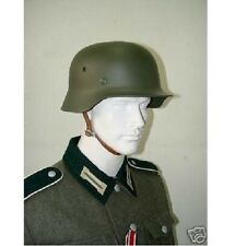 M1935 WWII GERMAN STEEL HELMET FIELD GREEN  HEER H-122