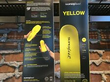 Superfeet Yellow Insoles Orthotics Hockey Cycling Track Spikes Size F