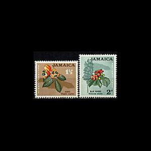 Jamaica, Sc #218-19, MNH, 1964, Flowers, Plants, A5ID
