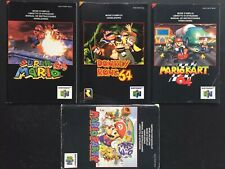 Nintendo N64 - LOT: Super Mario 64 Kart Party, Donkey Kong Manual Notice PAL