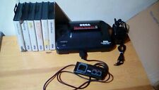 Sega Master System 2 Console with built in sonic & 6 boxed Games all working