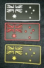 BRAND NEW AUSTRALIA FLAG PVC TACTICAL MORALE PATCH HOOK GLOW AUSTRALIAN SELLER