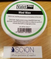 ValetPro Montan Mad Wax 50ml Professional Car Wax for Detailers, Valeters