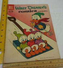 Walt Disney's Comics and Stories 243 comic book 1950s VG+ Donald Duck nephews