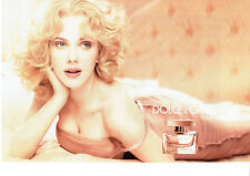 Publicité Advertising 107  2009   parfum Rose The One Dolce & Gabbana (2p) S.Joh