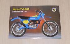 BULTACO FRONTERA 74 Motorcycles Sales Specification Sheet 1978 #174340012
