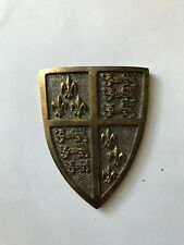 Franklin Mint Miniature Metal St of Armor English Knight Shield Only !