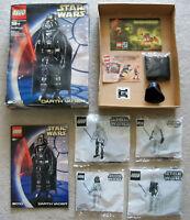 LEGO Star Wars - Rare Technic 8010 Darth Vader - Open Box (wear) Sealed Contents