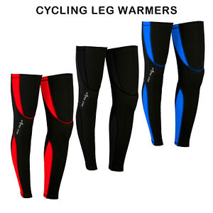 Mens Cycling Leg Warmers Winter Running Thermal Roubix Cycle Knee
