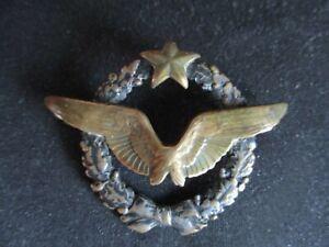 BADGE INSIGNE BROCHE BREVET PILOTE AVIATION ARMEE DE L'AIR MODELE 1916  WW1