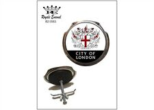 Royale Car Grill Badge & fittings - CITY OF LONDON COAT OF ARMS - B2.0583