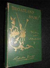 SIGNED - Broadland Sport - Nicholas Everitt - 1902-1st inc Punt Gunning/Shooting