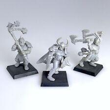 *CUSTOM MADE* 3x Chaos Marauder / Barbaren Warrior Warhammer Age of Sigmar GW