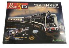 The Orient Express Puzz3D Wrebbit NIB Sealed 769 pieces New