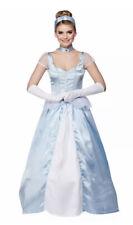 Ladies Cinderella Costume Princess Fairytale Adults Women's Fancy Dress UK 6-8