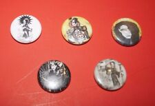 ROZZNET 20 Year Anniversary ROZZ WILLIAMS Limited Edition Pins Buttons Lot x5