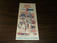 MAY 1974 AMTRAK CHICAGO TO SEATTLE PUBLIC TIMETABLE