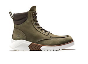 Timberland Men's MTCR Boots Nubuck Leather Olive Green