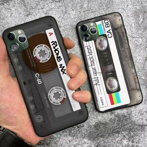 Vintage Cassette tape retro style For iPhone - mini soft silicone Phone case