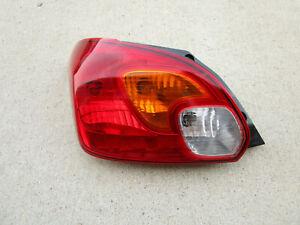 14 - 15 MITSUBISHI MIRAGE ES 4D HATCHBACK REAR DRIVER LEFT SIDE TAIL LIGHT OEM