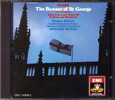 Hickox: Elgar Banner of St. George Te Deum & Benedictus Great is the Lord CD EMI