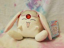 "Clamp Magic Knight Rayearth Mokona Vibrating Plush Toy w/Goggles 4.5"" Japan NEW"