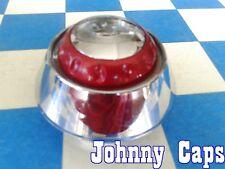 QUANTUM TEK Wheels [72] CHROME W/RED Center Cap # N/A Custom Center Cap (1)