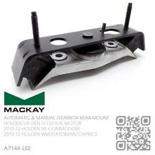 MACKAY AUTO/MANUAL GEARBOX MOUNT V8 GEN IV LS2 6.0L MOTOR [HOLDEN VE COMMODORE]
