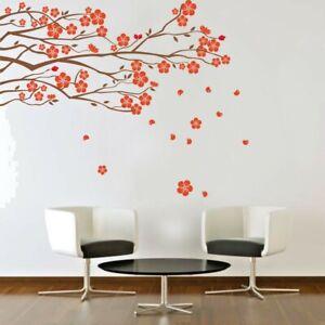 Wall Sticker Tree Branch Blossom Flowers Wall Art Vinyl Wall Decal HIGH QUALITY