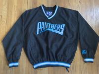 Carolina Panthers Vintage 90's Starter Pullover Jacket Size L EUC Rare