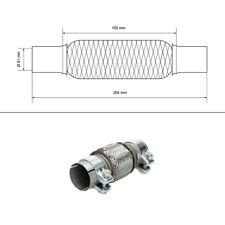 Raccord échappement flexhose  Ø 40-60 mm acier inoxydable pinces ou soudage