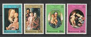 Montserrat  295 - 98  Weihnachten  **  (mnh)