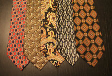 Lot of 5 NEW Roundtree & Yorke Designer Neck Ties with Patterns LD004