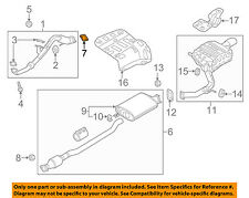 KIA OEM 11-18 Sorento 2.4L-L4 Exhaust-Front Pipe Gasket 287513S100