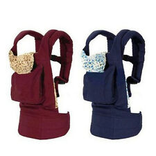 Cotton Front Back Baby Newborn Carrier Infant Comfort Mummy Backpack Sling Wrap
