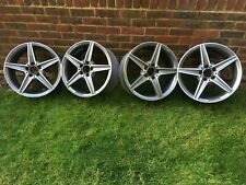 """18"""" OEM Mercedes AMG Staggered fitment Wheels"""