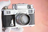 Zeiss Ikon Contax IIIa Messsucher range finder + Zeiss-Opton Sonnar 1:1,5 f=50mm