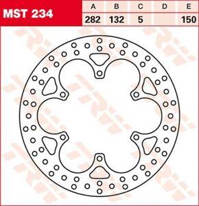 Bremsscheibe TRW Lucas MST234, Bremsscheibe starr mit ABE