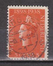 NVPH Netherlands Nederland 311 CANCEL VOORBURG 1938 Wilhelmina