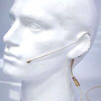 Micronic Single Ear Hook Head Worn Microphone For Wireless Body Pack Transmitter