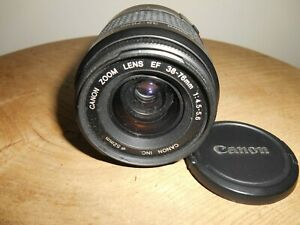 CANON ZOOM EF 1:4.5-5.6/38-76mm Lens(Canon EF mount)