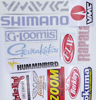 Fishing Stickers LOT of 13 Decals  for SALES