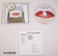Red Hot Chili Peppers RARE Japan Import PROMO Greatest Hits LYRIC BOOKLET